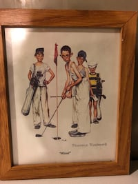 Norman Rockwell sports pictures  Buffalo, 14228