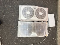 Air conditioner/2 window fans 183 mi