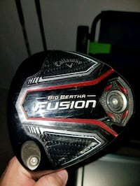 Callaway Fusion LH Driver Houston