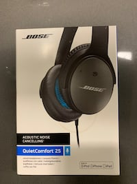 Bose QC25 for Apple devices (Like new) San Jose, 95124