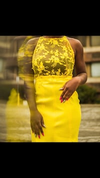 Beautiful Yellow dress ( Prom or Special occasion ) Toronto, M3N