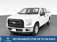 2016 Ford F150 SuperCrew Cab pickup XL Pickup 4D 5 1/2 ft White Baltimore