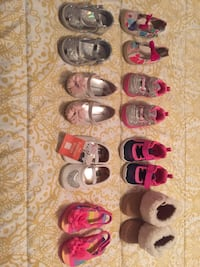 Assorted color shoes and sandals Hialeah, 33015