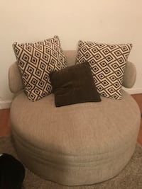gray and black fabric sofa chair Doral, 33178