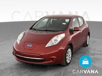 2015 Nissan LEAF hatchback S Hatchback 4D Red