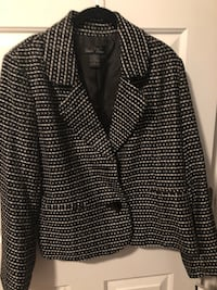 Women's size 14 Black and white jacket new with tags Newport News, 23606