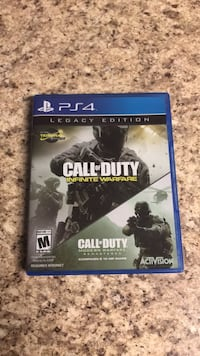 Call of Duty Infinite Warfare PS4 game case Kissimmee, 34741