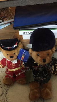 2 Harrods bears with original tags Washington, 20002