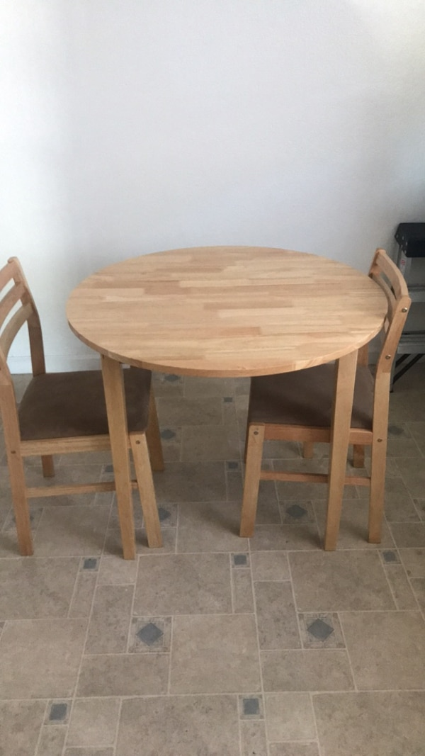 2person table with flaps
