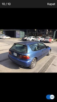 93 Honda Civic Ex Hb Sunroof lu Esenyurt, 34510