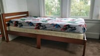 2 Twin size wooden bed frames Cleveland, 44120