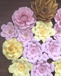 pink, yellow, and purple flower decors Stafford, 22556