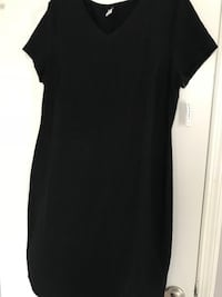 Brand New with tags Black XL Old Navy V Neck Dress, s/f p/f poos no holds, pick Up in imperial  Imperial, 63052