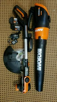 New WORX trimmer and blower 20v New Orleans, 70115