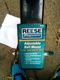 Reese ball mount and hitch