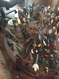 Assorted animal figurine collections