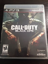 Call of Duty Black Ops PS3 game case Raeford, 28376