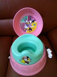 baby's pink and green potty trainer Washington, 20002