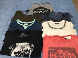 Women's assorted tops