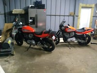 red and black touring motorcycle Houston, 77073