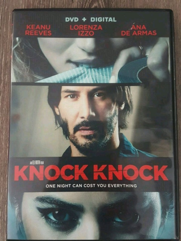 Knock Knock (Erotic Thriller/Horror DVD) 0