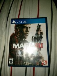 Mafia 3 PS4 game case Perris, 92570