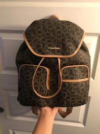 New Authentic Calvin Klein Monogram backpack  Glendale, 80246