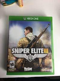 Sniper elite 3 xbox one St. Clair