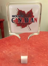 Vintage MOLSON CANADIAN Beer Tap Handle Toronto, M8V 2S7