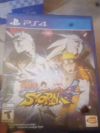 Naruto Storm 4 PS4 game case Palmdale, 93552