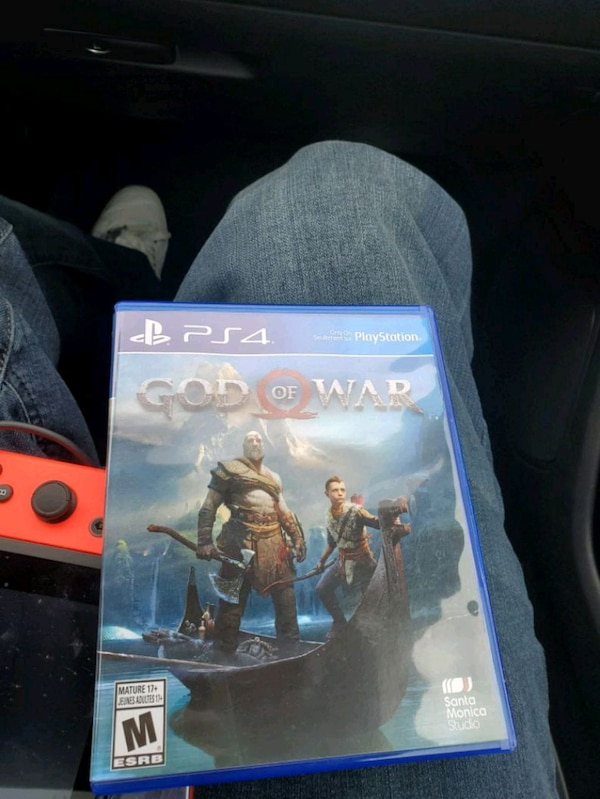 Sony PS3 God of War game