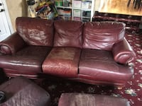 Leather Couch  OREM