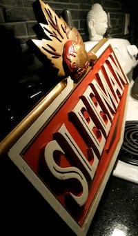 Vintage (WOODEN) BAR SIGN