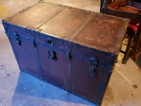 Antique American Express leather trunk Bethesda, 20816