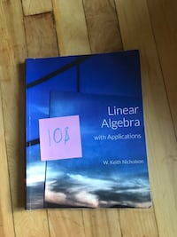 Linear algebra with applications Montreal