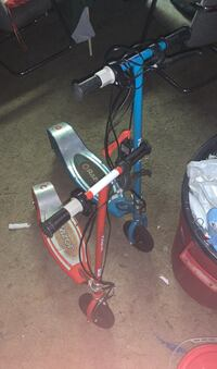 Two razor Electric scooters with charger