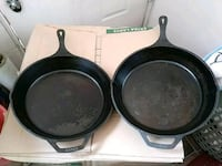 LODGE BRAND 14 INCH Cast Iron SKILLETS San Leandro