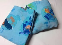 Shark Tale 2 Piece Double Fitted Flat Sheet Set Dreamworks Movie Central Elgin, N0L
