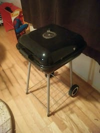 Black and Gray Charcoal Grill 217 mi