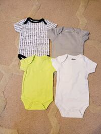 baby's two white and blue onesies Germantown, 20874