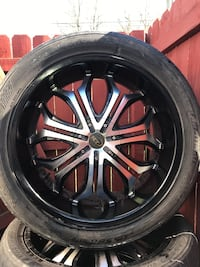Universal Rims and tires