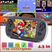 4.3 inch video game console, 10000 games  MP4 MP5 players handheld Hamilton, L8S 1A9