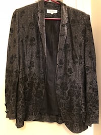 black and gray floral cardigan Mississauga, L4Y 4E2