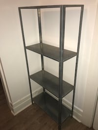 Ikea Hyliss galvanized steel shelf unit ($30 for pair)