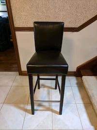 Bar Chair, brown leather-like Whitchurch-Stouffville