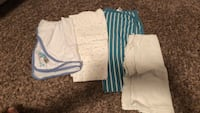 white and blue stripe shorts Sherwood Park, T8A 6L4