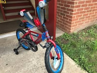 Toddler's blue and red bicycle Hagerstown, 21742