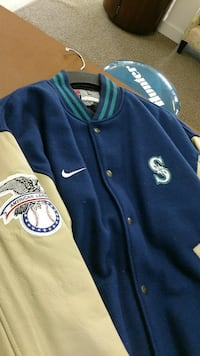 Seattle Mariners allstar Nike button-up  jacket Olympia, 98503