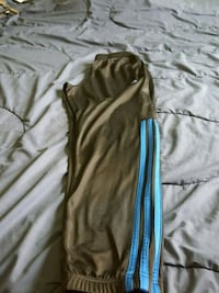 Adidas track track pants, black and blue  Toronto, M2R 2S6