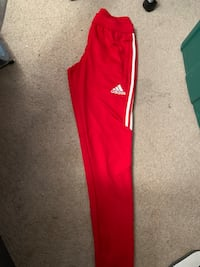 red and white Adidas track pants Whitby, L1N